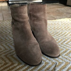 Sam Edelman Shoes - San Edelman suede booties size 8